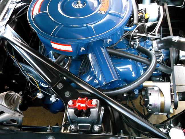1966 Mustang Convertible GT Blue