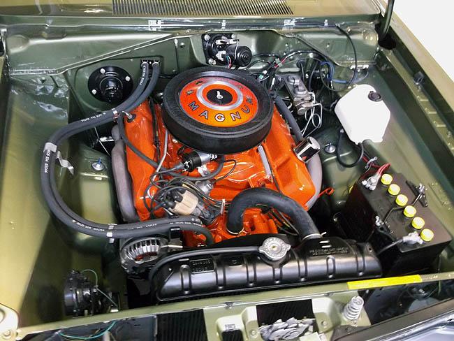 69 Green Dodge Dart