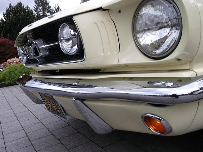 1965 springtime yellow fastback