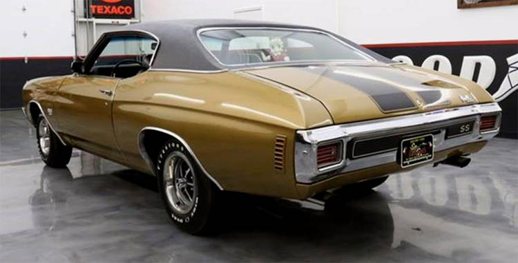 1970 Gold Chevelle